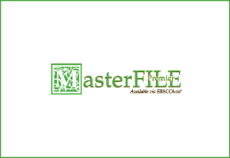 Masterfile in green with white background