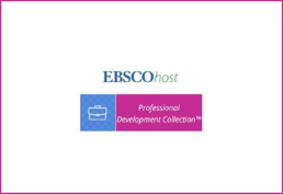 Ebsco with blue square and pink rectangle