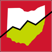 state of ohio with upward trend line