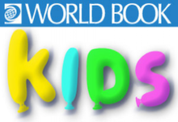 World Book Kids in Brightly Painted Letters