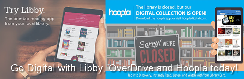 Libby Hoopla and OverDrive Apps